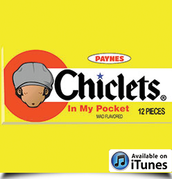 chiclets in my pocket album cover